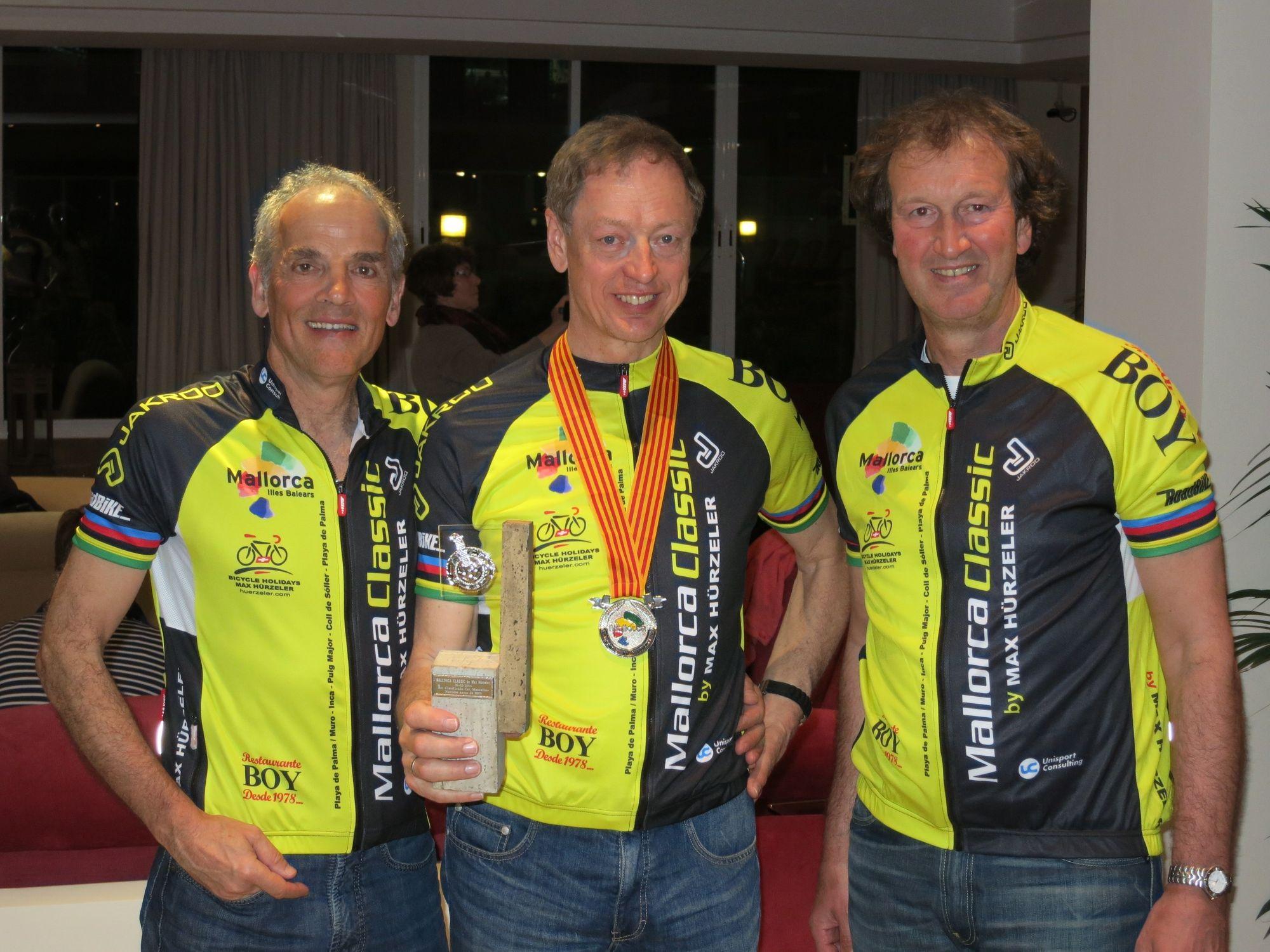 von links: Rainer Kleinfeld, Karl-Heinz Klein, Franz Peter Schwartz
