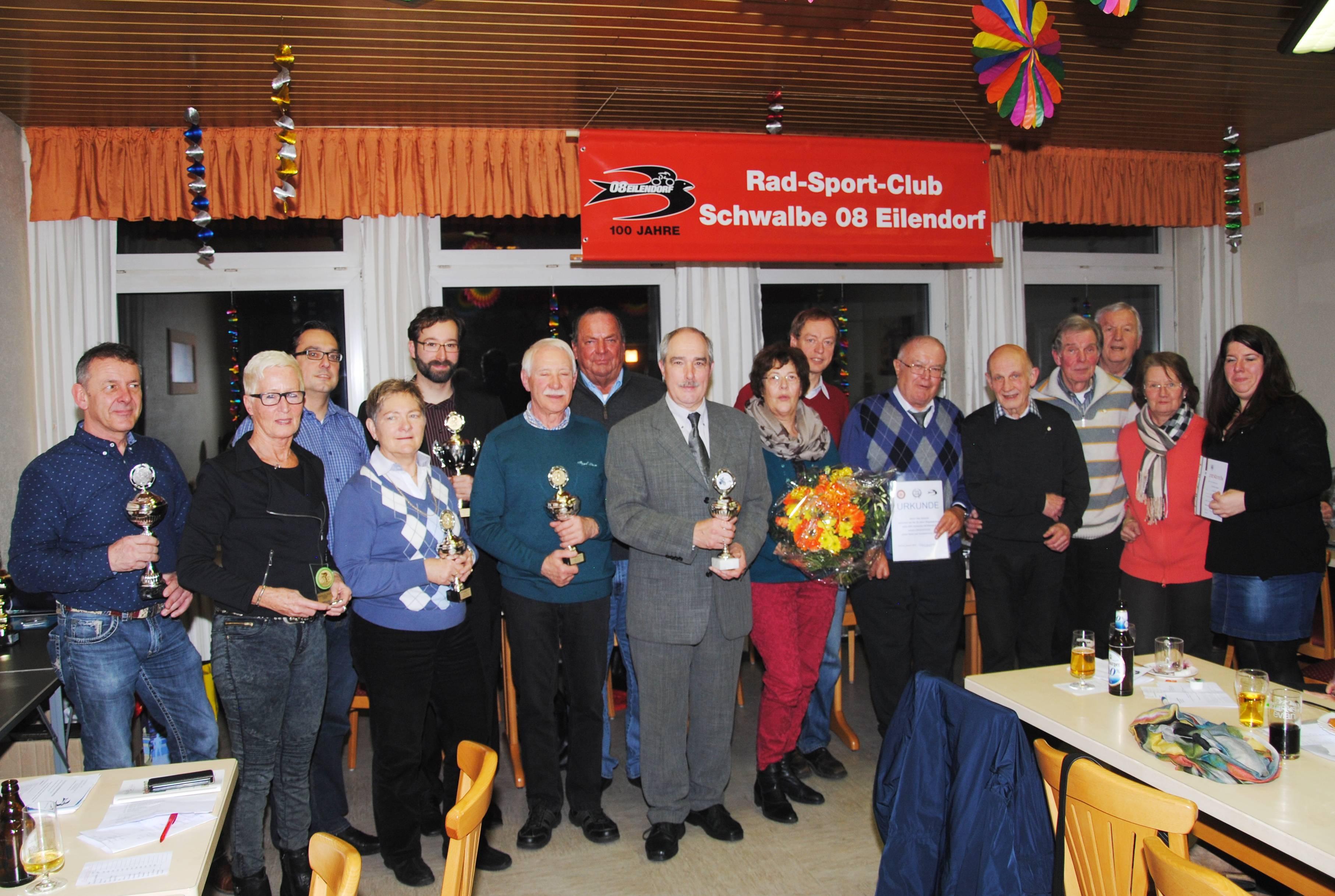 Jahreshauptversammlung 2015 - Preisverleihung