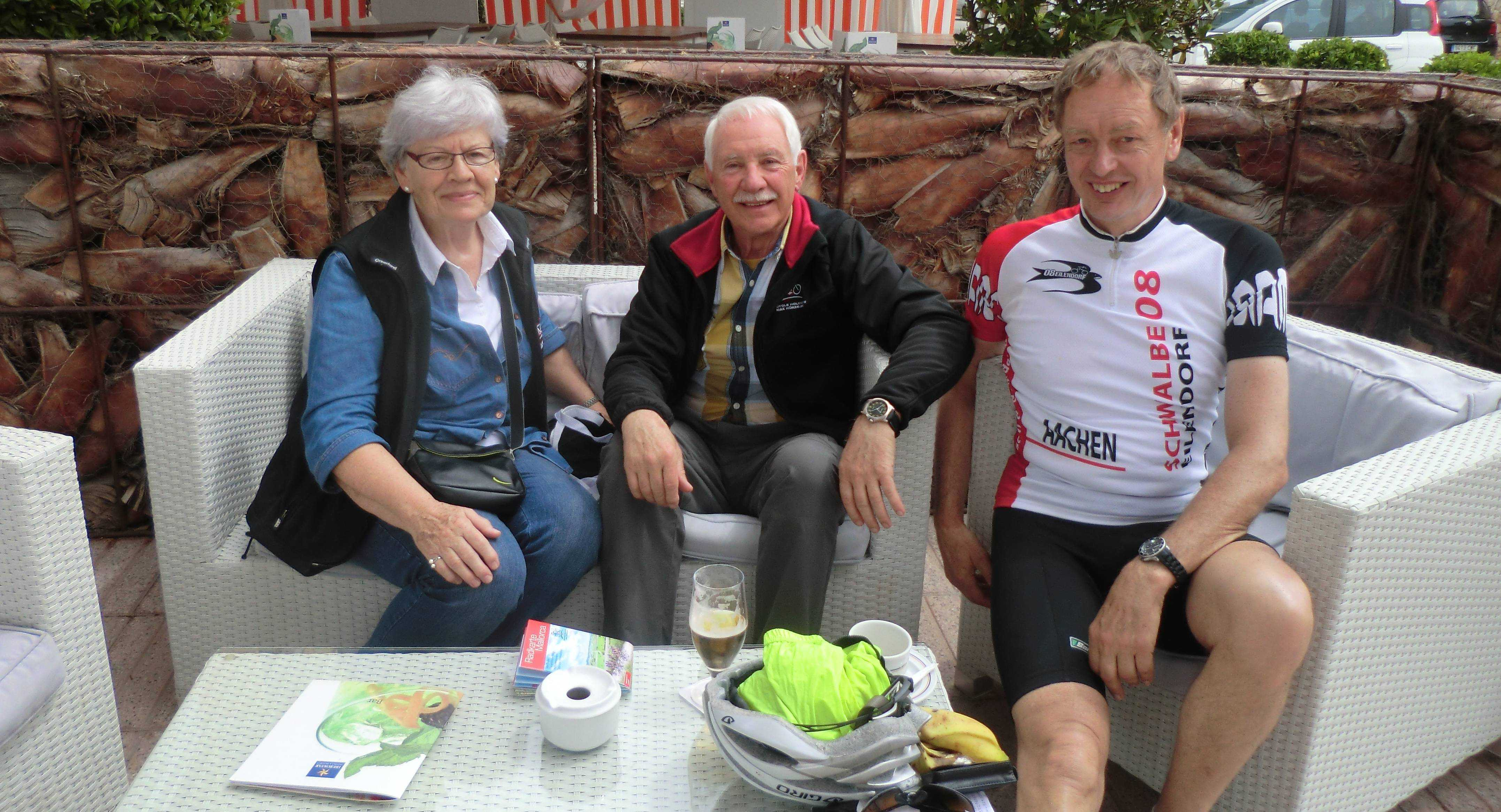Besuch bei Mia und Herbert in Alcudia